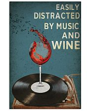 Music And Wine 24x36 Poster front