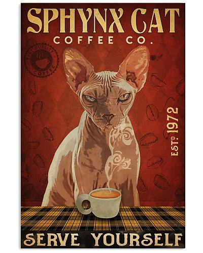 Sphynx Cat Coffee