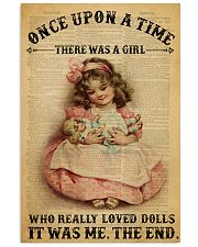 Girl Doll Dictionary 24x36 Poster front