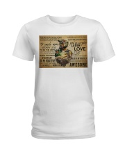 MTB Today Is A Good Day Ladies T-Shirt tile