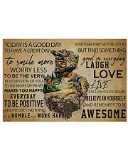 MTB Today Is A Good Day 36x24 Poster front
