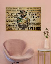 MTB Today Is A Good Day 36x24 Poster poster-landscape-36x24-lifestyle-19