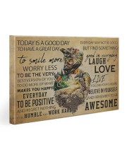 MTB Today Is A Good Day Gallery Wrapped Canvas Prints tile