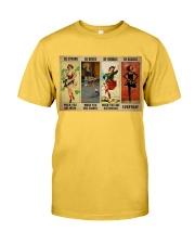 Irish Dancing Be Strong Classic T-Shirt tile