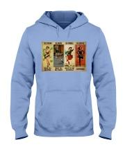 Irish Dancing Be Strong Hooded Sweatshirt tile