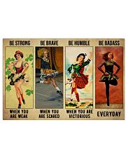 Irish Dancing Be Strong 36x24 Poster front