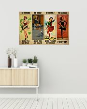 Irish Dancing Be Strong 36x24 Poster poster-landscape-36x24-lifestyle-01
