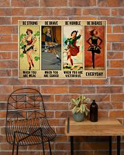 Irish Dancing Be Strong 36x24 Poster poster-landscape-36x24-lifestyle-20