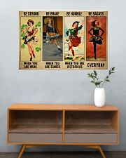 Irish Dancing Be Strong 36x24 Poster poster-landscape-36x24-lifestyle-21
