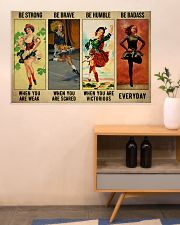 Irish Dancing Be Strong 36x24 Poster poster-landscape-36x24-lifestyle-22