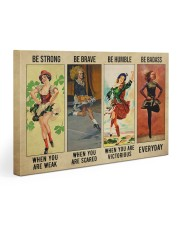 Irish Dancing Be Strong Gallery Wrapped Canvas Prints tile