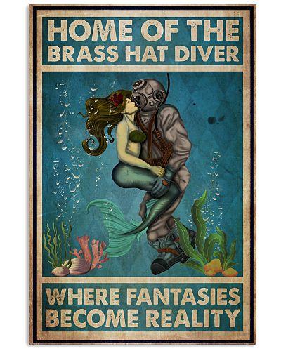 Diver And Mermaid