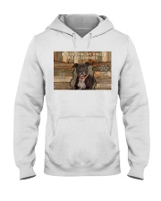 Staffordshire Bull Terrier When Visiting Hooded Sweatshirt thumbnail
