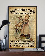 Girl Hairdresser  24x36 Poster lifestyle-poster-2