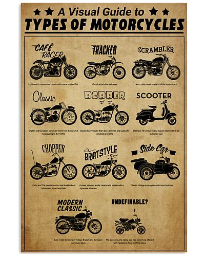 A Visual Guide To Types Of Motorcycles