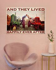 Tractor Couple Lived Happily 36x24 Poster poster-landscape-36x24-lifestyle-19