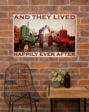Tractor Couple Lived Happily 36x24 Poster poster-landscape-36x24-lifestyle-20