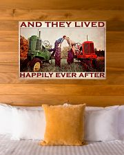 Tractor Couple Lived Happily 36x24 Poster poster-landscape-36x24-lifestyle-23