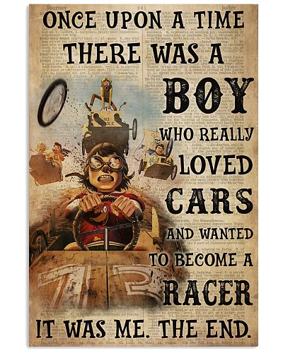 Boy Loved Car And Wanted To Become A Racer