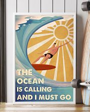 Surfing The Ocean Is Calling And I Must Go 2 24x36 Poster lifestyle-poster-4