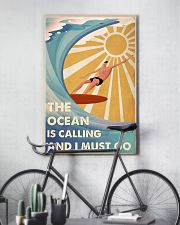 Surfing The Ocean Is Calling And I Must Go 2 24x36 Poster lifestyle-poster-7