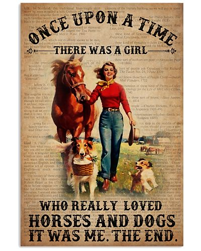 OUAT Girl Loved Horses And Dogs Dictionary