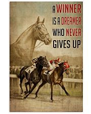 Seabiscuit And War Admiral Horse Racing  24x36 Poster front