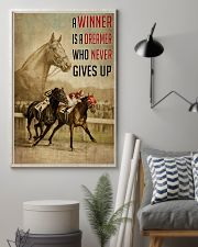 Seabiscuit And War Admiral Horse Racing  24x36 Poster lifestyle-poster-1