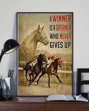 Seabiscuit And War Admiral Horse Racing  24x36 Poster lifestyle-poster-2