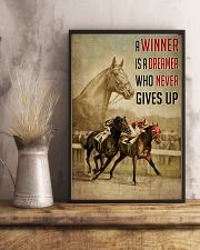 Seabiscuit And War Admiral Horse Racing  24x36 Poster lifestyle-poster-3