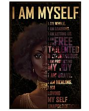Black Girl Afro  24x36 Poster front