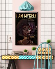 Black Girl Afro  24x36 Poster lifestyle-poster-6