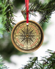 Vintage Compass Not All Those Circle ornament - single (porcelain) aos-circle-ornament-single-porcelain-lifestyles-07