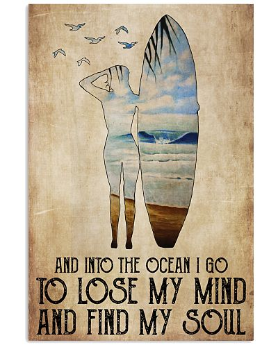Girl Surfer Lose Mind Find Soul