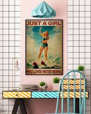 Girl Loves Water Skiing 24x36 Poster lifestyle-poster-6