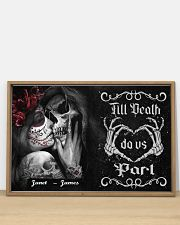 Sugar Skull Till Death Do Us Part 36x24 Poster poster-landscape-36x24-lifestyle-03