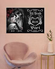 Sugar Skull Till Death Do Us Part 36x24 Poster poster-landscape-36x24-lifestyle-19
