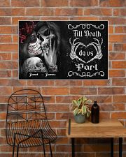 Sugar Skull Till Death Do Us Part 36x24 Poster poster-landscape-36x24-lifestyle-20