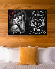 Sugar Skull Till Death Do Us Part 36x24 Poster poster-landscape-36x24-lifestyle-23