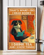 Doggo Reads Books And Know Things 24x36 Poster lifestyle-poster-4