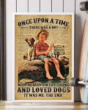 Boy Liked Fishing Dictionary 24x36 Poster lifestyle-poster-4