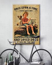 Boy Liked Fishing Dictionary 24x36 Poster lifestyle-poster-7