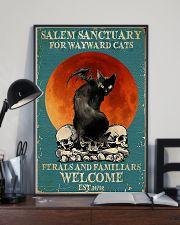 Cat Salem Sanctuary 24x36 Poster lifestyle-poster-2