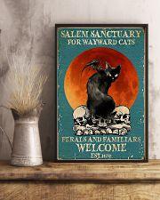 Cat Salem Sanctuary 24x36 Poster lifestyle-poster-3