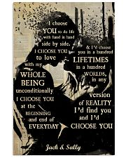 Music Couple I Choose You Vertical Poster tile