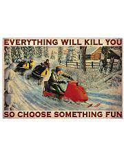 Snowcross Choose Something Fun 36x24 Poster front