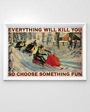 Snowcross Choose Something Fun 36x24 Poster poster-landscape-36x24-lifestyle-02