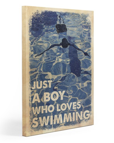 Just A Boy Loves Swimming