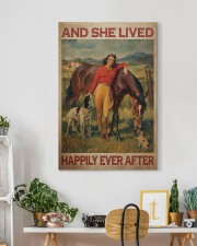 Girl And Horse Live Happily Canvas 20x30 Gallery Wrapped Canvas Prints aos-canvas-pgw-20x30-lifestyle-front-03