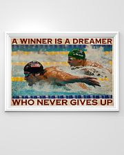 Old Man Don't Stop Swimming 2 36x24 Poster poster-landscape-36x24-lifestyle-02
